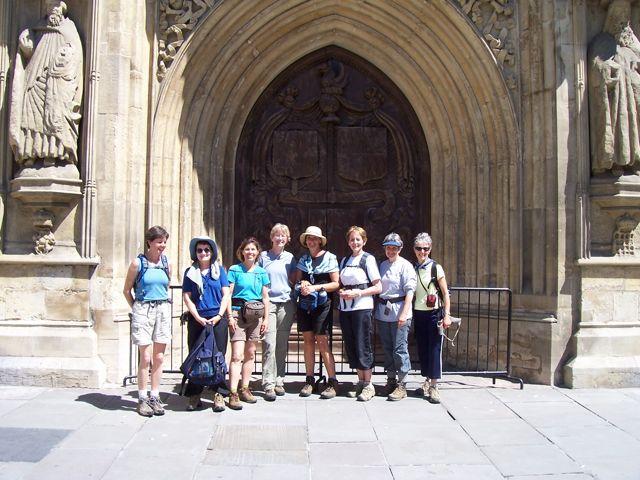 The Finish: Bath Abbey