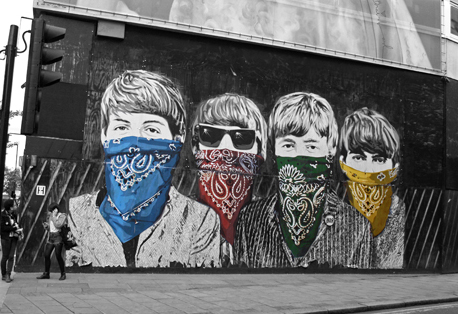 Artwork by   Mr.Brainwash