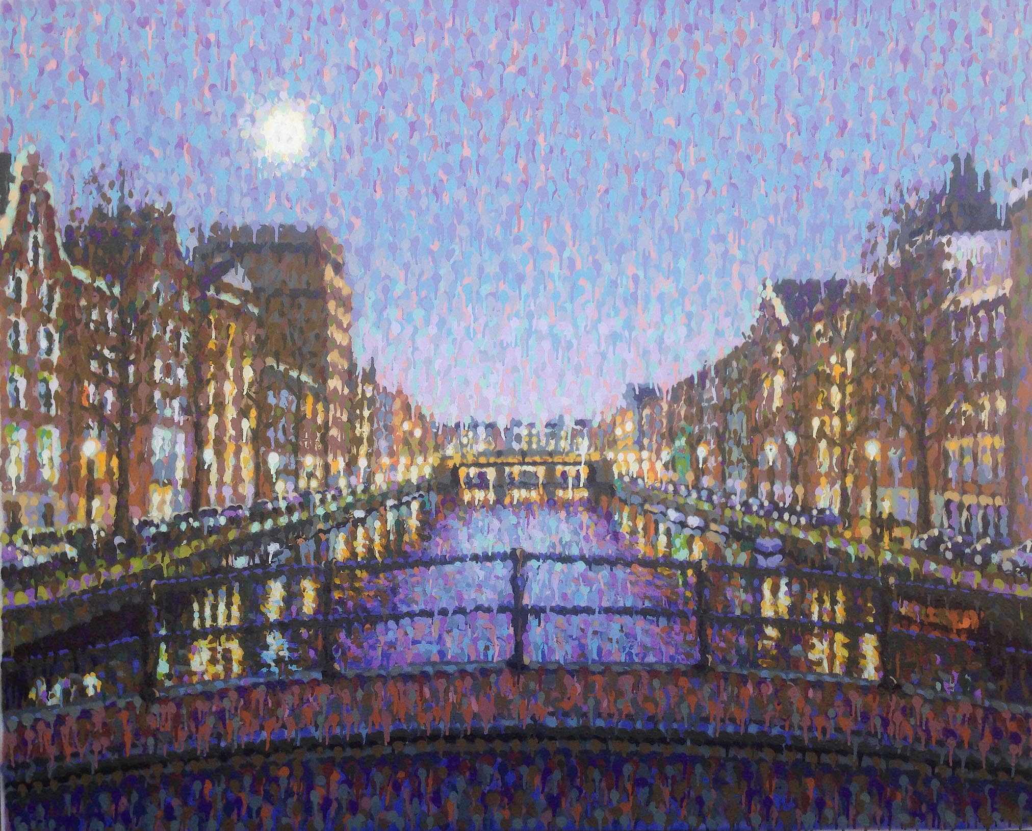 """Amsterdam Moon"" by Jimmy C"