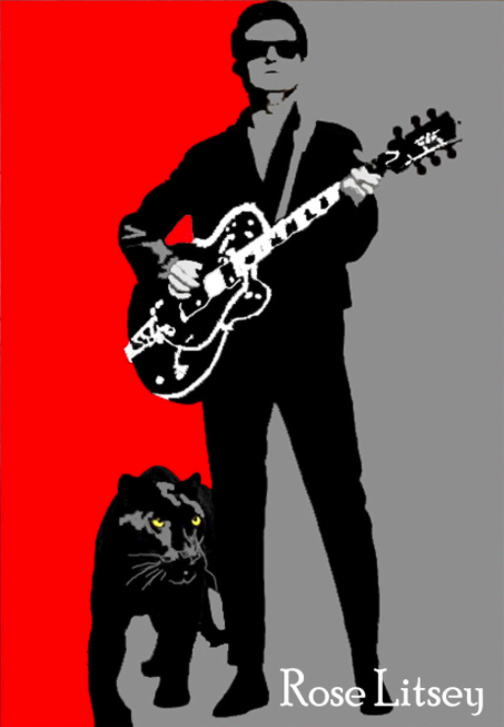 Roy Orbison Music Man Painting by Rose Litsey