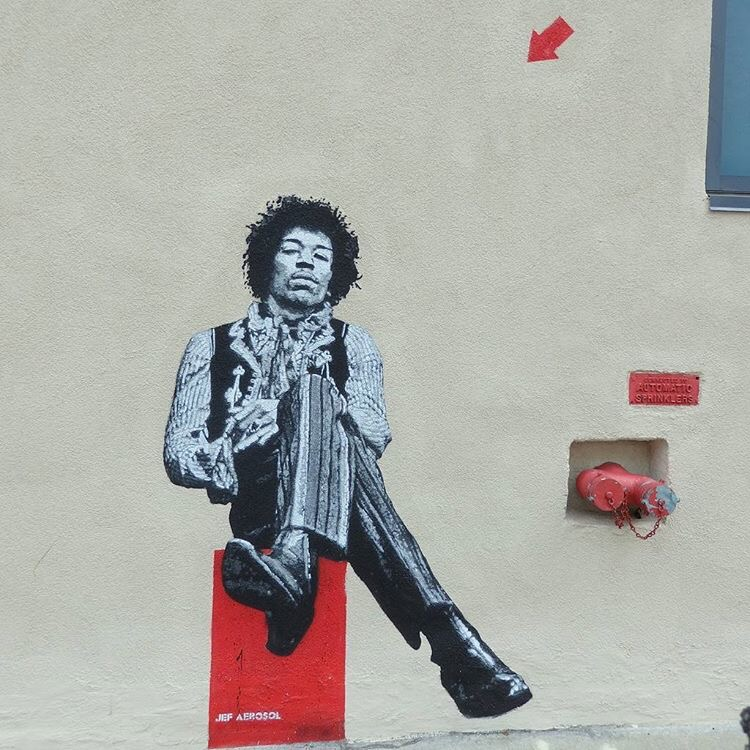 Jimi Hendrix, Boston, 2015