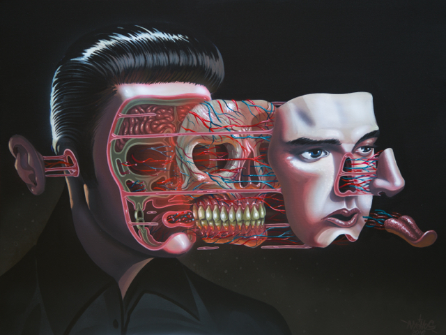 DISSECTION OF ELVIS HEAD - 2016