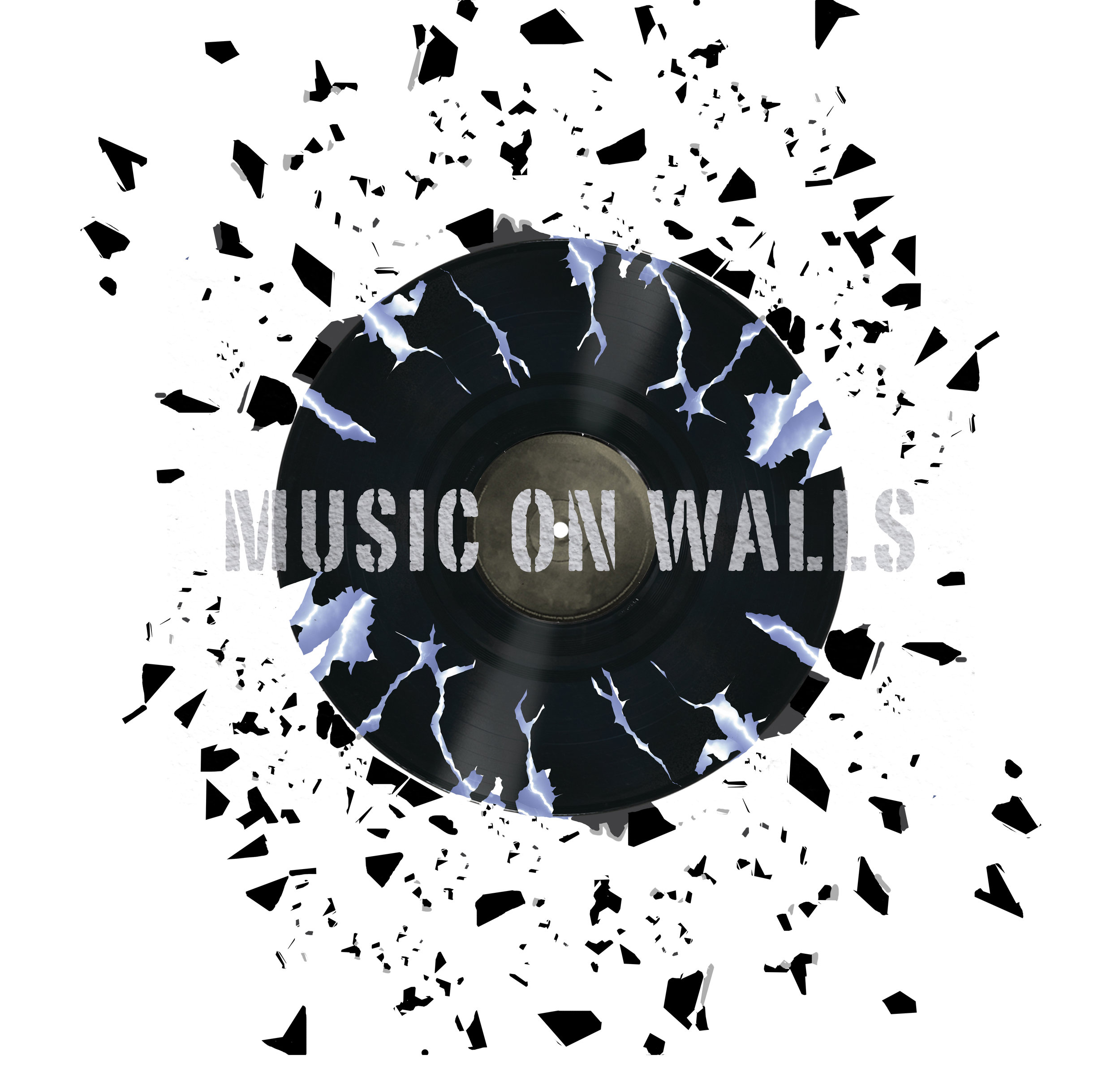 Music On Walls Logo