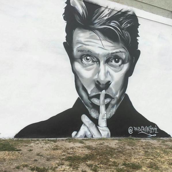 Artwork by  PhD Graffiti