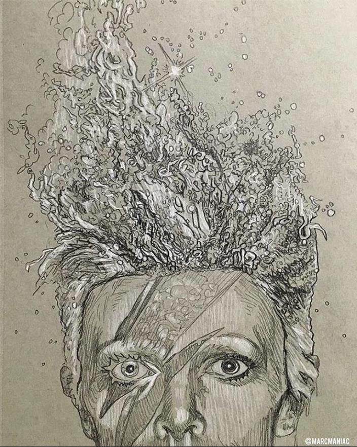 Artwork by  Mark Evan