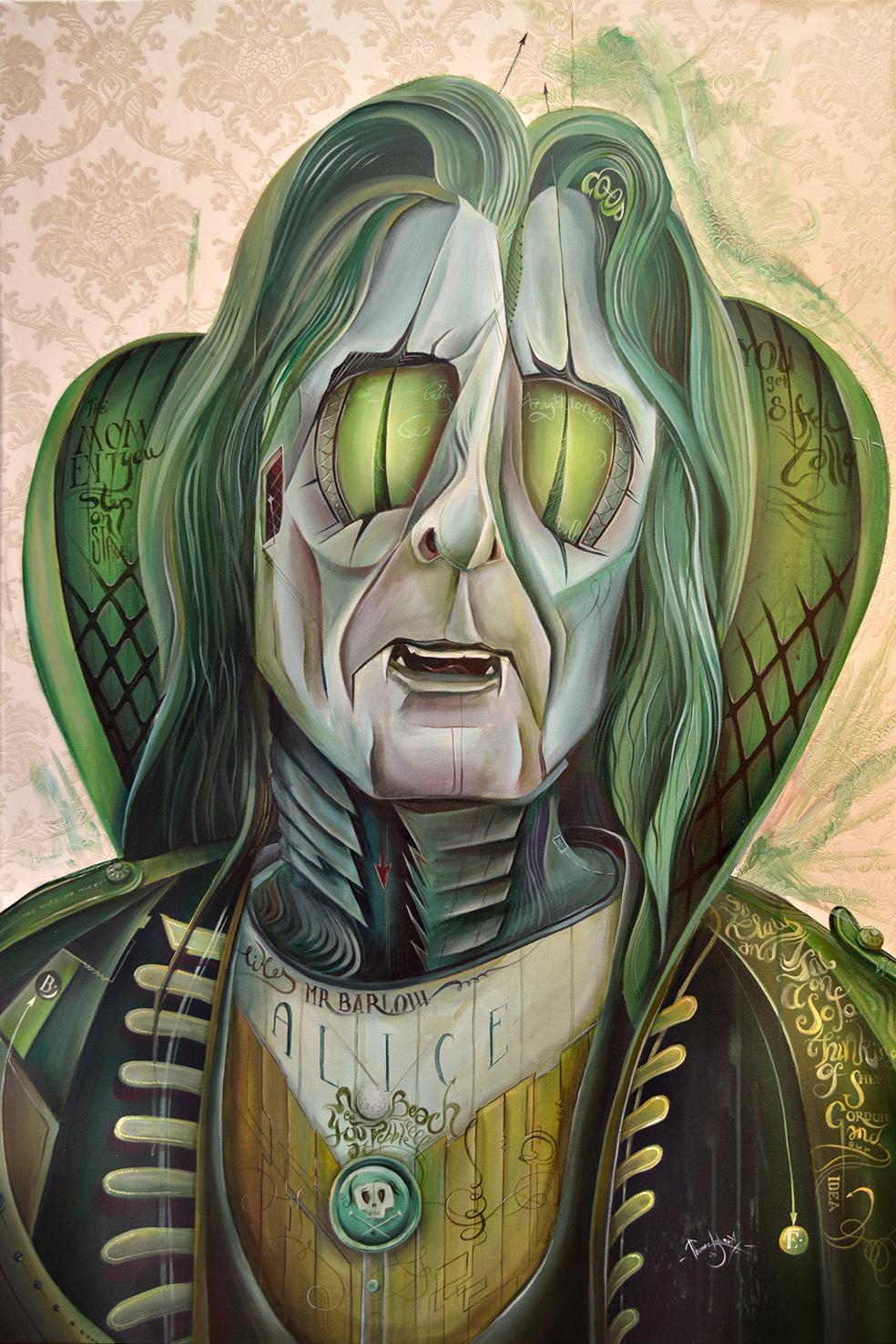 Alice Cooper - Snake   Tom Lohner