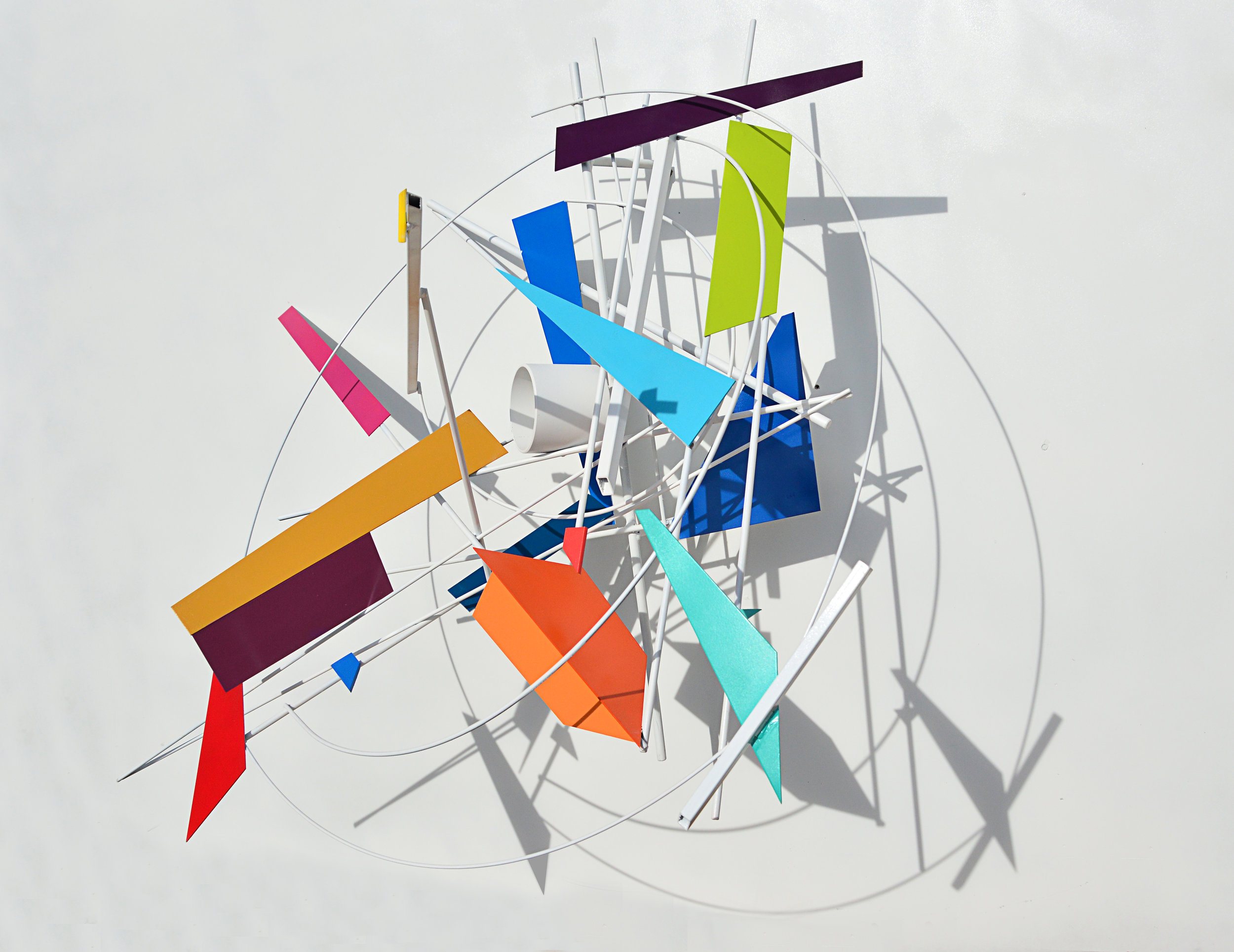 Phaedra - metal sculpture - 2016