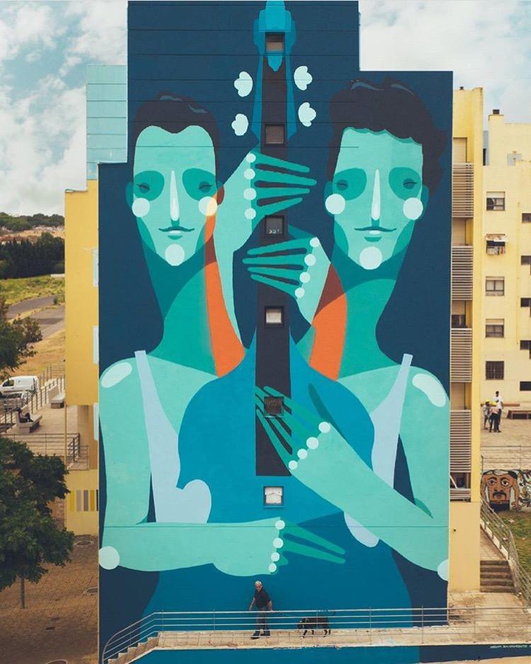"""""""Double Double Bass"""" by  Zësar Bahamonte"""