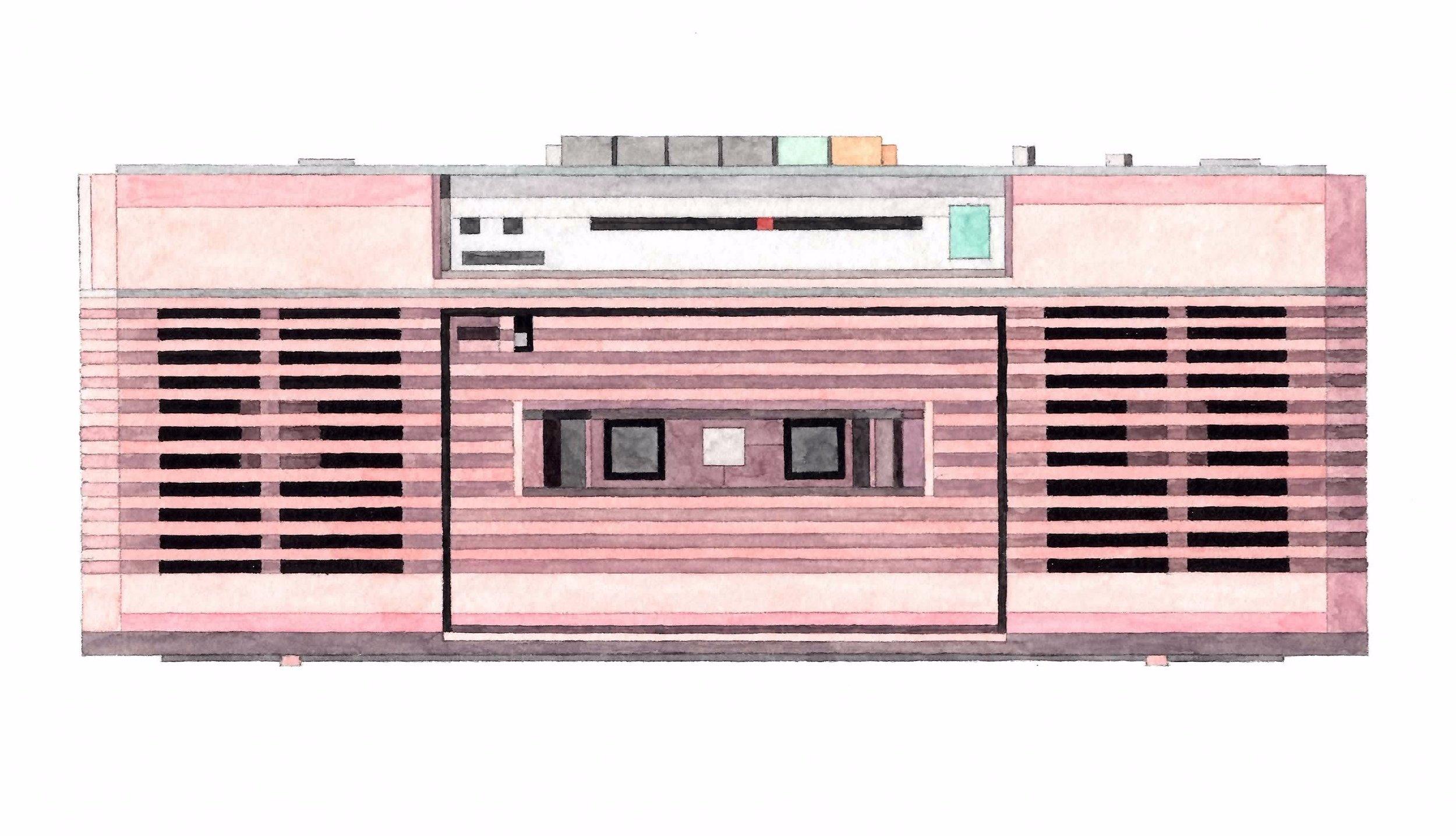 Adam Lister Boombox Sharp QT-50