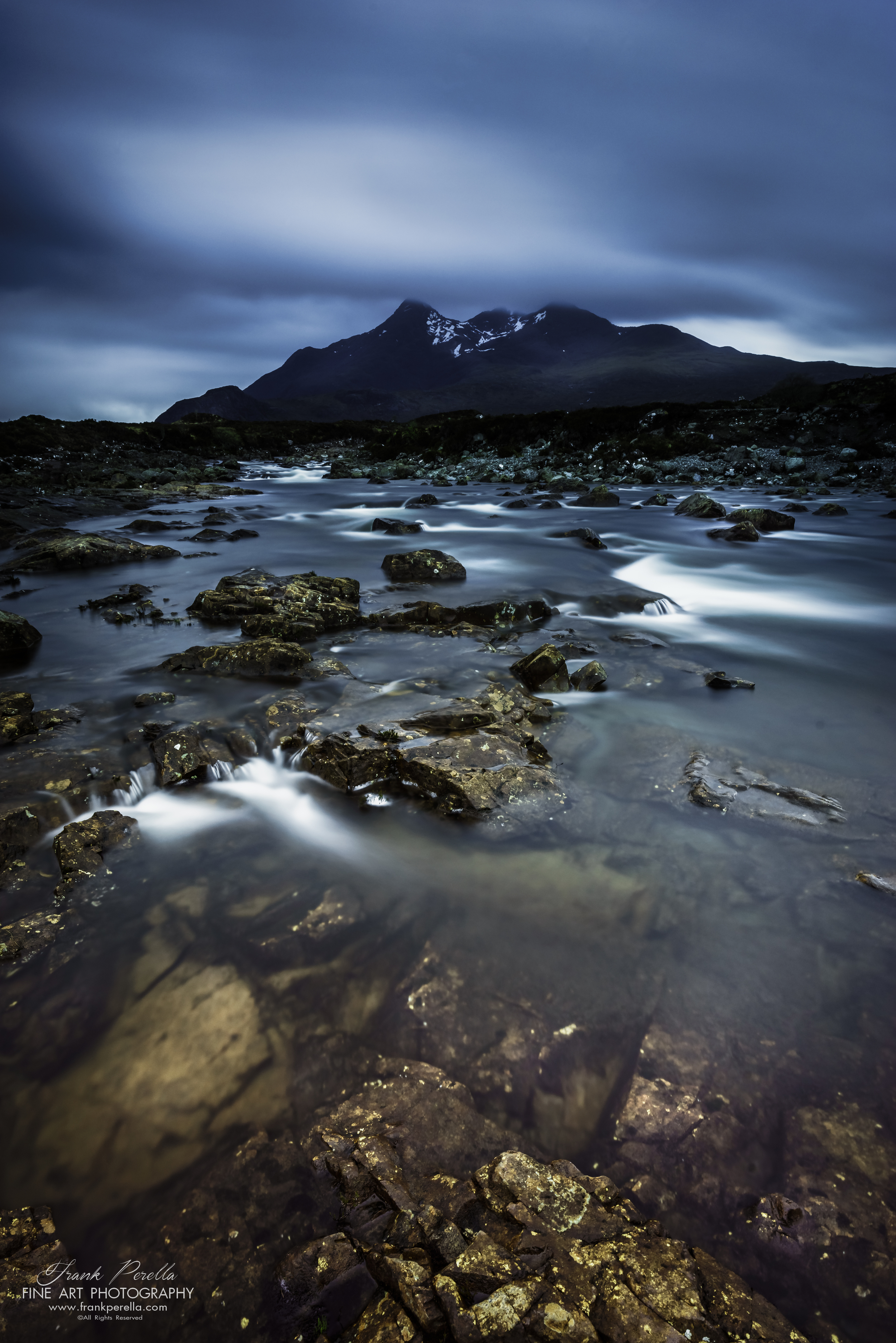 glen sligachan and cuillin mountains