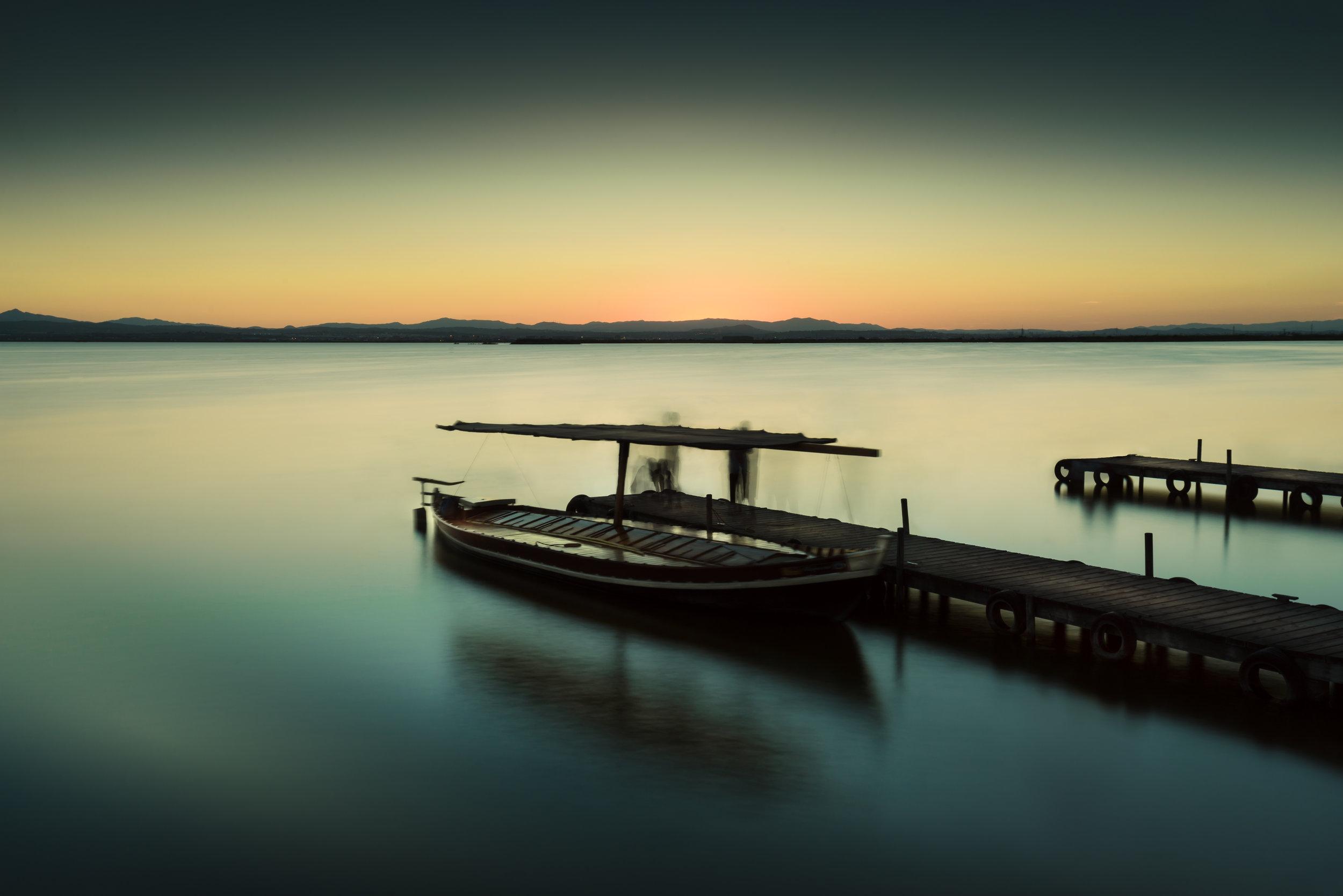 dusk over the secret sea