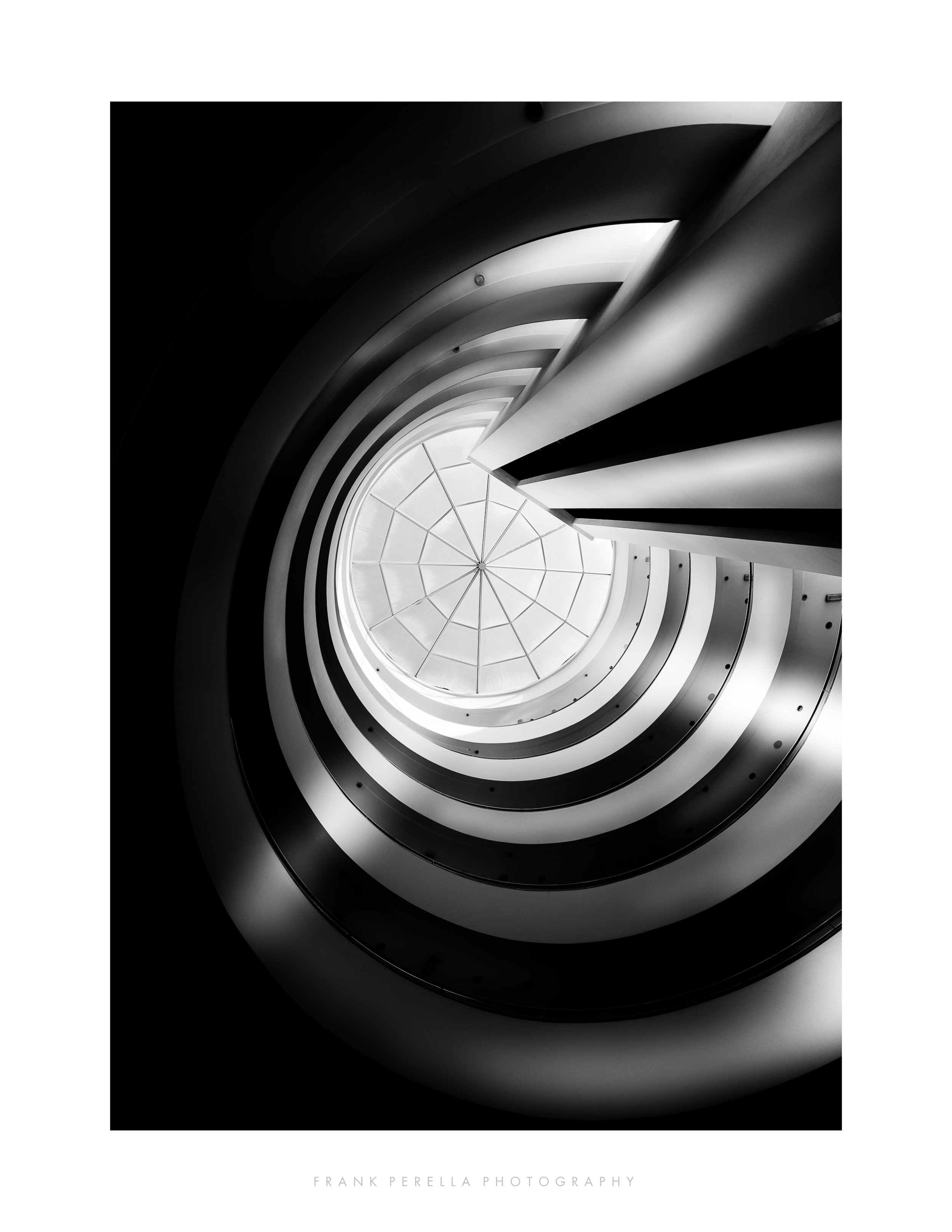 spiralling upwards