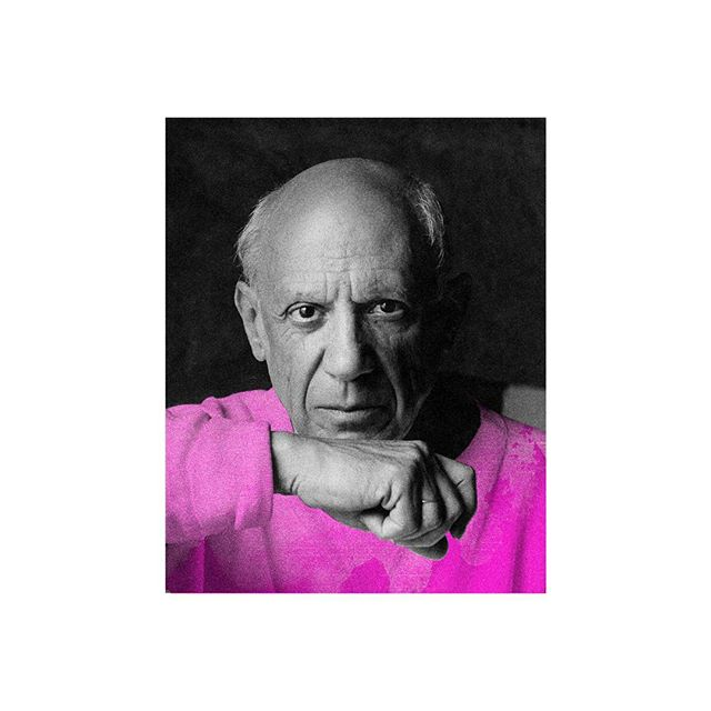 Pink sweater on digital canvas. #picasso  #BlackOffice #CreativeStudio #SurrealisReal #NoLine #Branding #Site #SocialMedia #Design #Images #Video #Advertising #Art