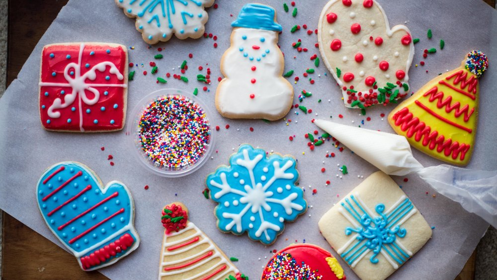 Christmas Cookie Decorating Kit.Holiday Cookie Decorating Party Kit Happy Food Co