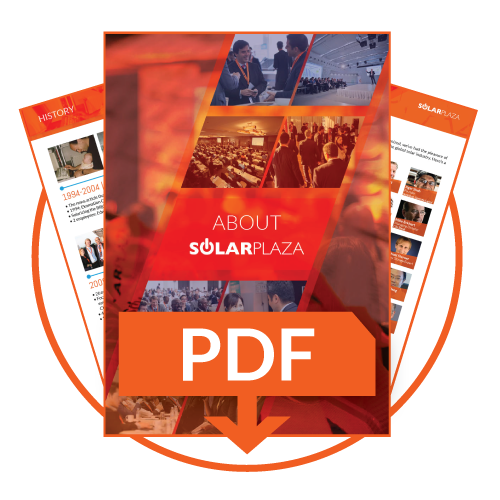 Download the Solarplaza corporate brochure to find out more our track-record and activities