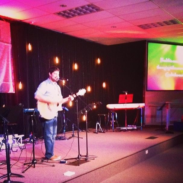 @maranda_mccauley  Getting to hear my husband lead worship tonight. #sweetspots
