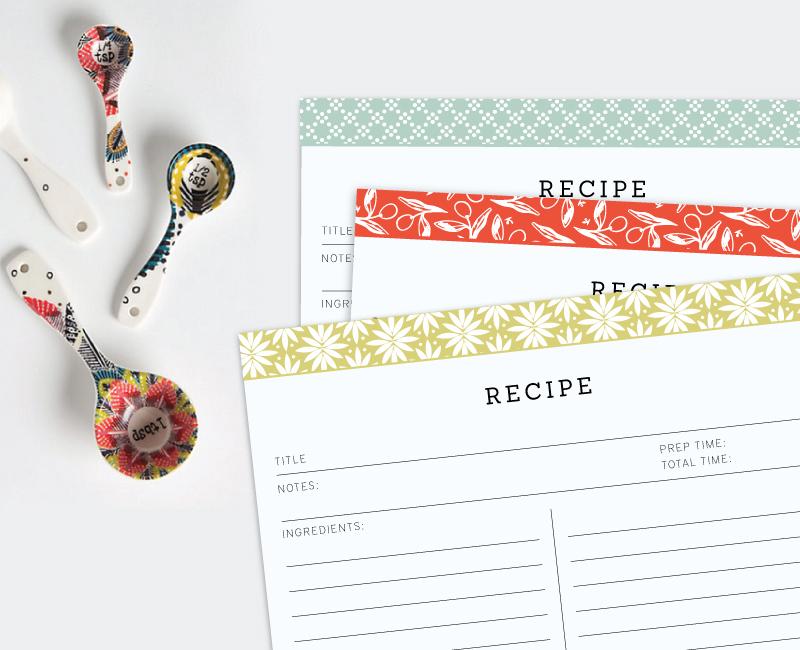 Elle & Company - Recipe Cards