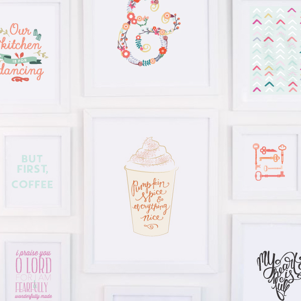 Printable art prints from the Elle & Company Library