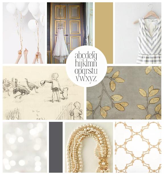 Inspiration board by Elle & Company