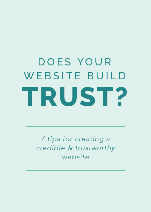 7 Tips for Creating a Credible and Trustworthy Website | Elle & Company