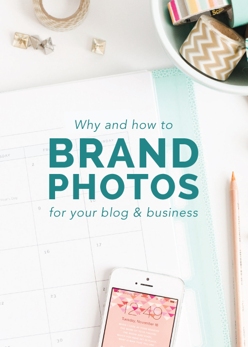 Why and How to Brand Photos for Your Blog and Business | Elle & Company
