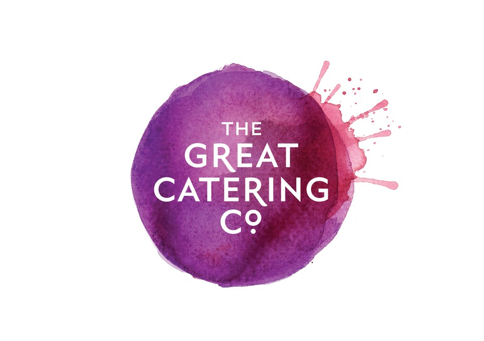 The Great Catering Company has a distinct, memorable brand with their colorful splashes of color. They didn't rely on what had already been done before, and it results in a one-of-a-kind brand.