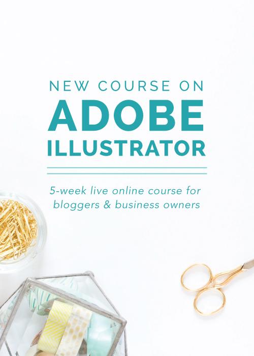 New Adobe Illustrator E-Course from Elle & Company   Elle & Company