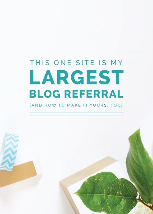This One Site is My Largest Blog Referral (And How to Make it Yours, Too) | Elle & Company