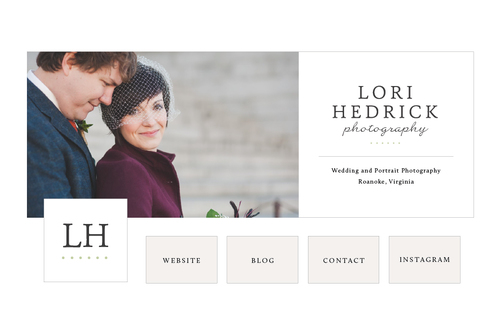 New Brand + Website Design for Lori Hedrick Photography | Elle & Company