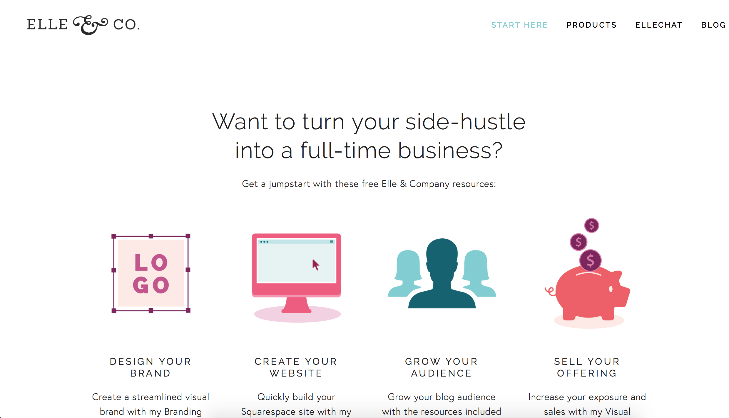 Exciting Changes to the Elle & Company Website (And Why We Made Them) | Elle & Company