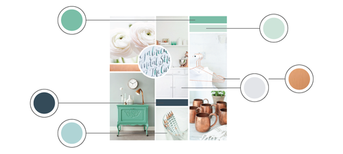 How to Create a Distinct Color Palette for Your Brand | Elle & Company