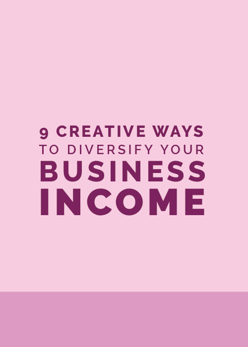 9 Creative Ways to Diversify Your Business Income | Elle & Company