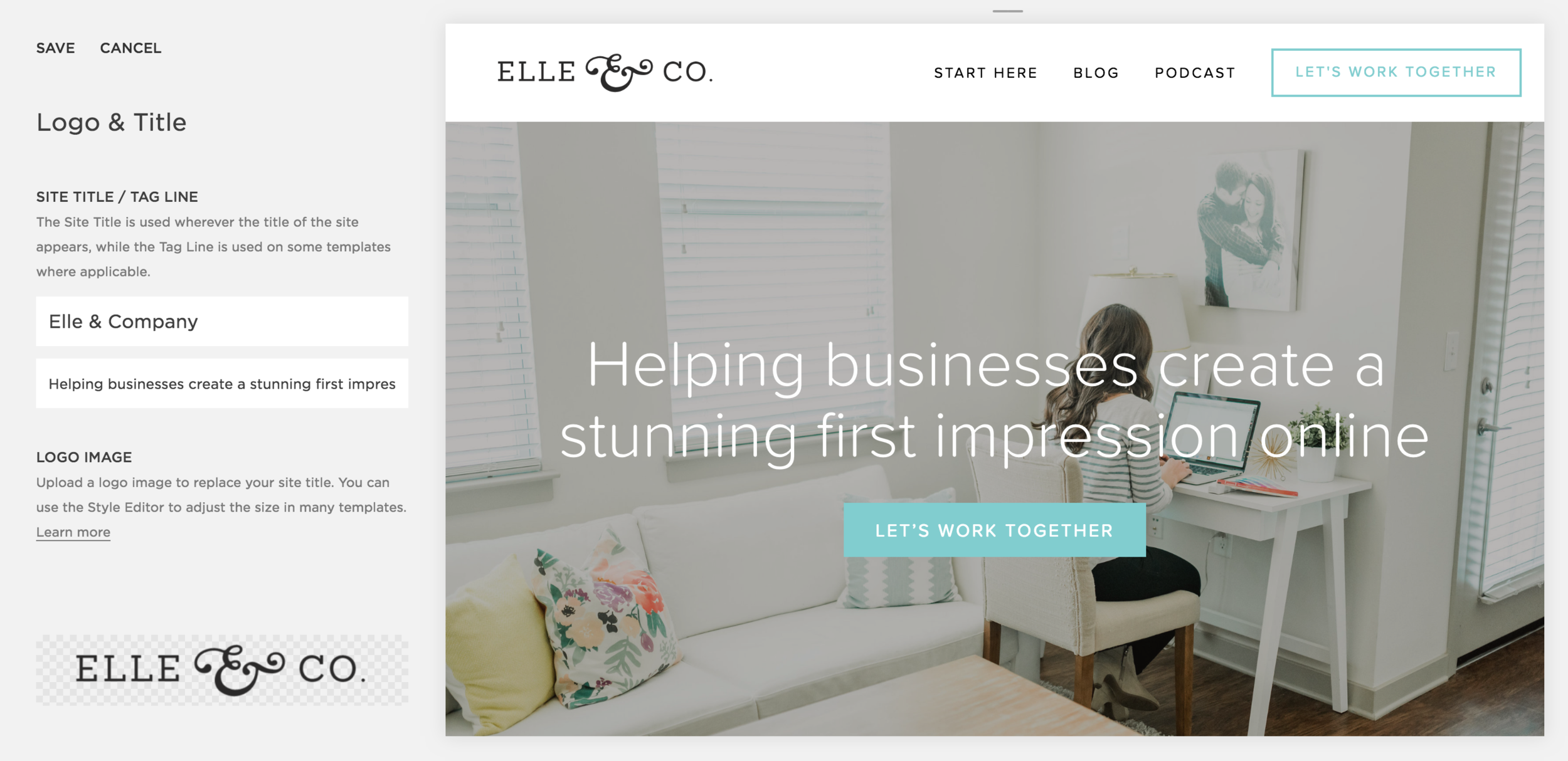 My Step-by-Step Guide for Getting Started with Squarespace | Elle & Company