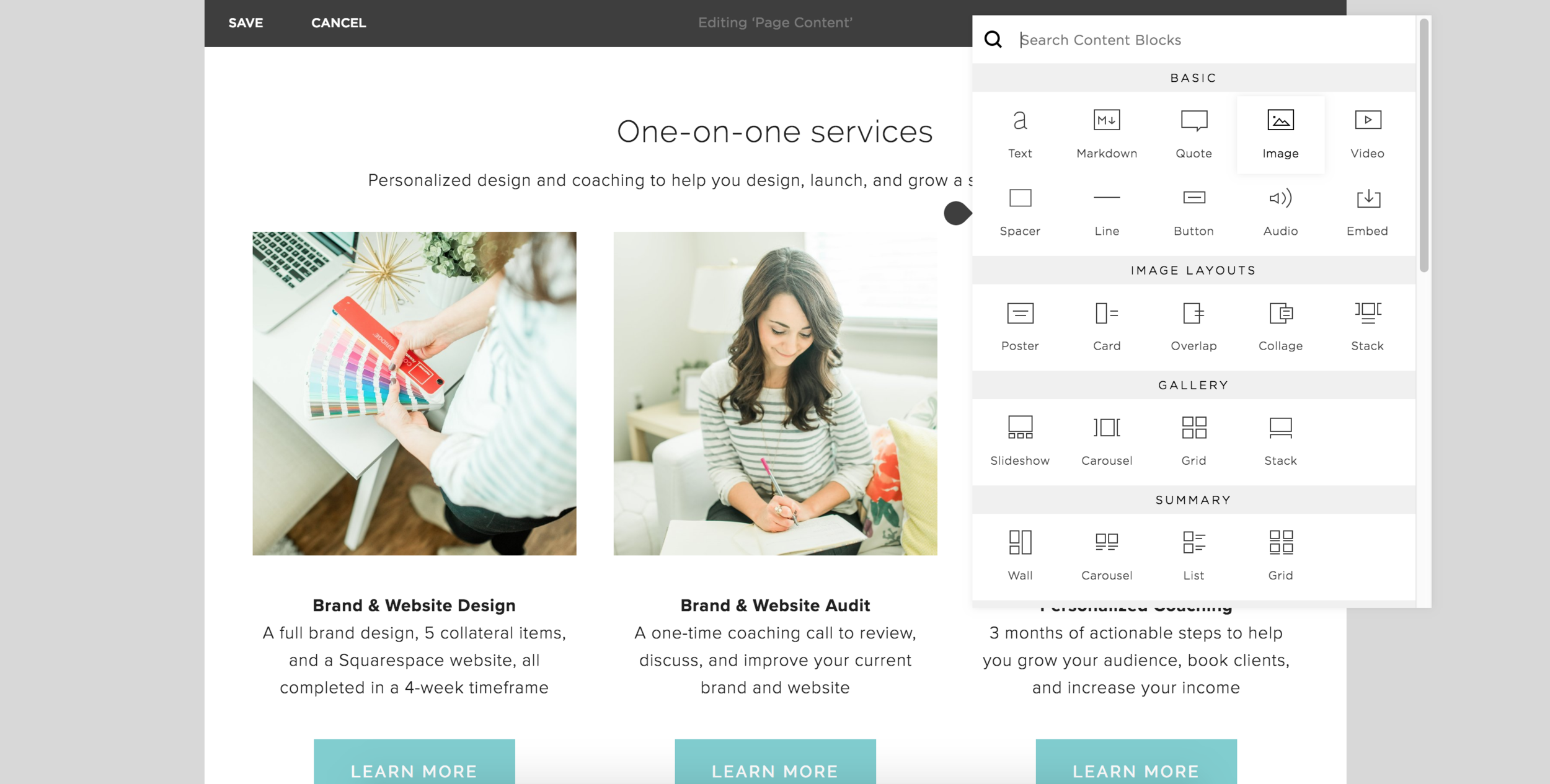 5 Things You Should Investigate During Your 14-Day Squarespace Trial   Elle & Company