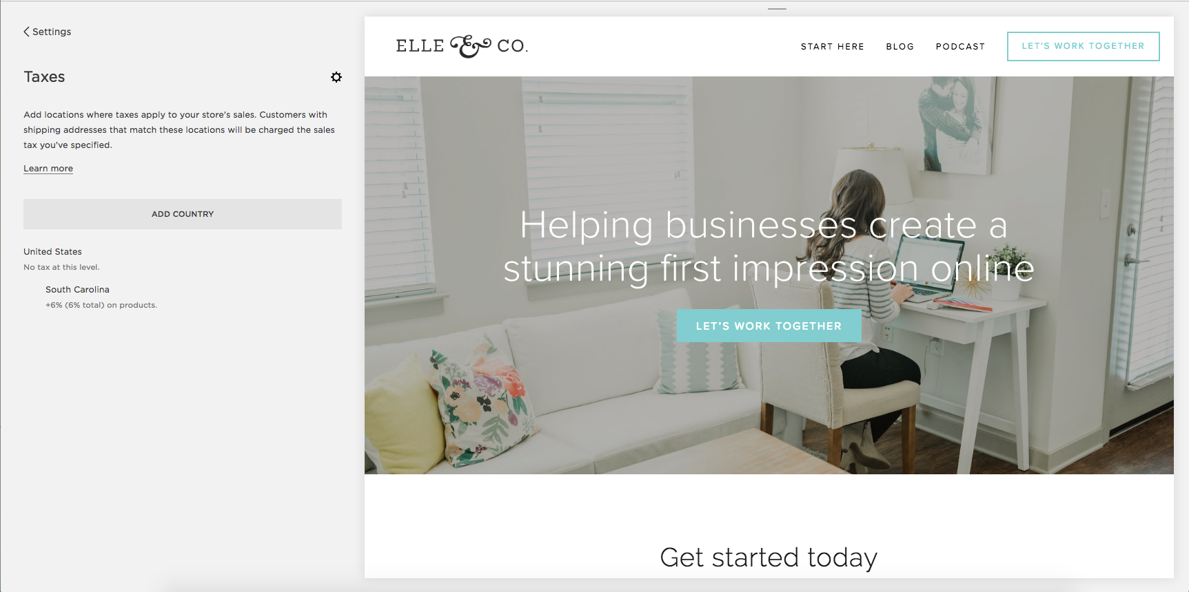 How to Sell Like a Pro in Squarspace   Elle & Company