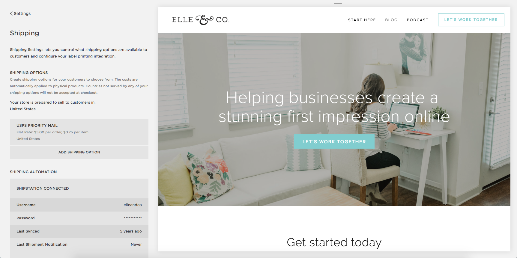 How to Sell Like a Pro in Squarespace   Elle & Company