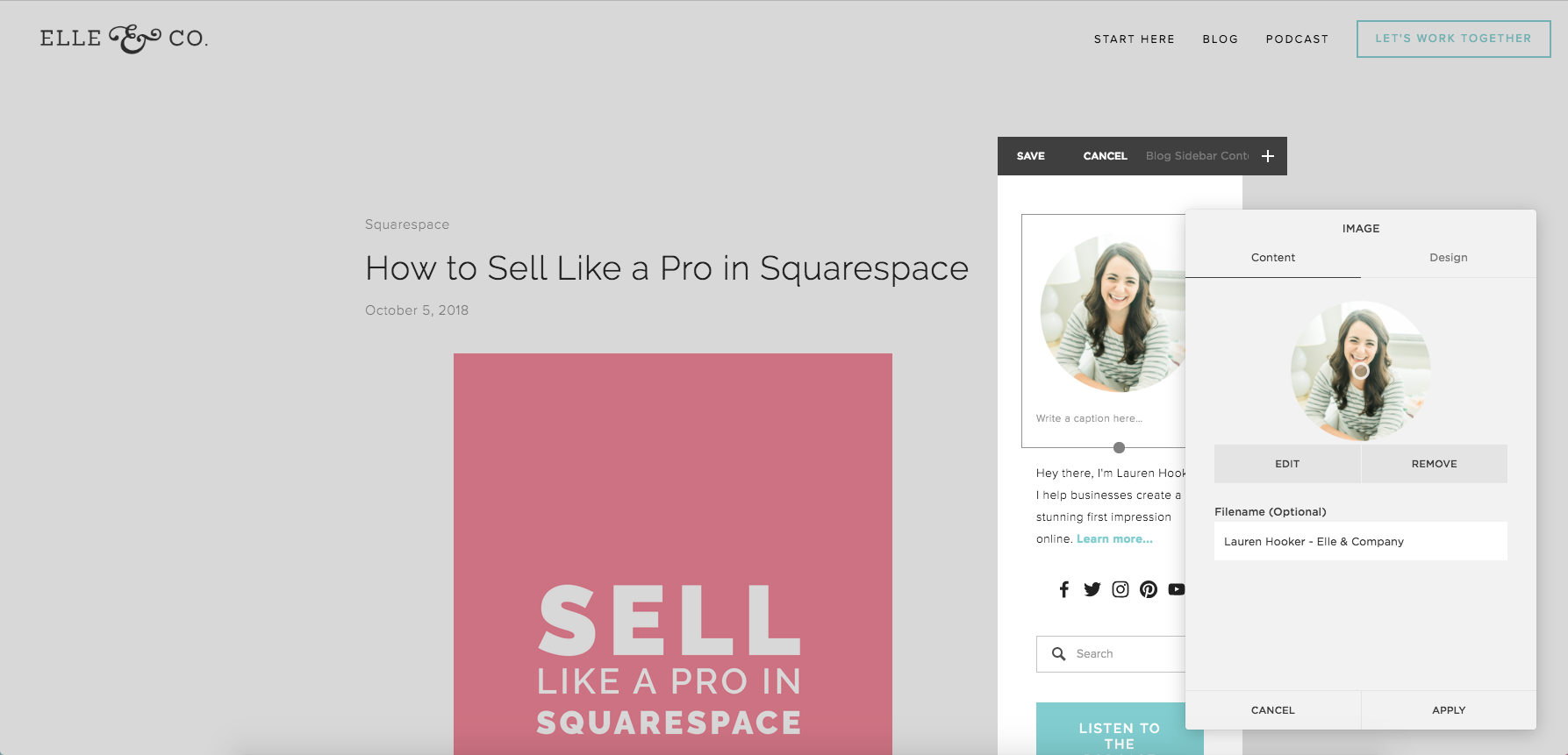10 Things To Do After Your Squarespace Site is Live | Elle & Company