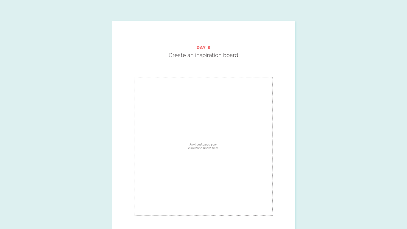 Brand Challenge Day 8: Create an inspiration board
