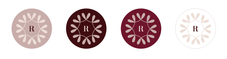 Brand Challenge Day 13: Set up color options for each logo variation | Elle & Company
