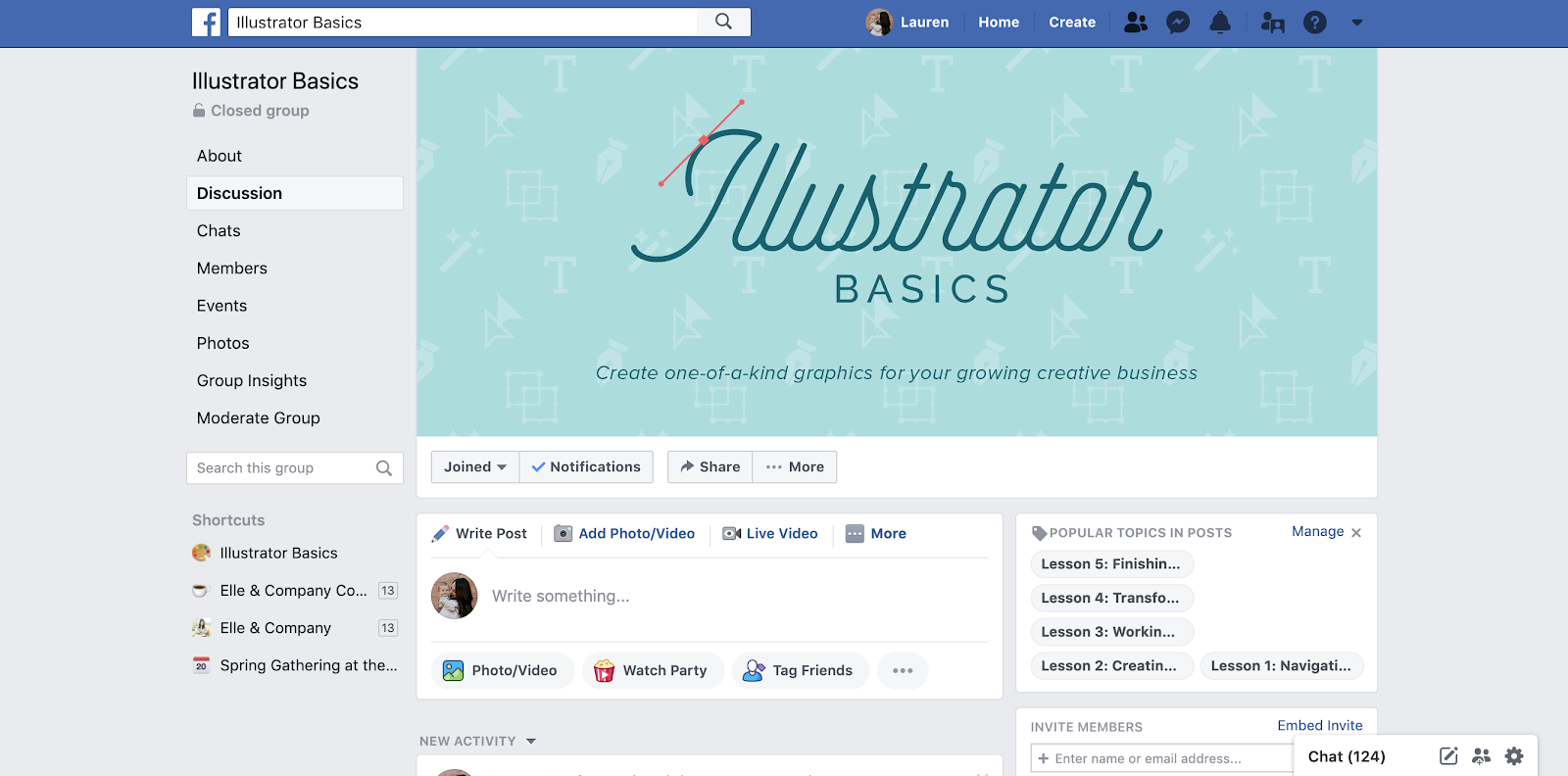 How I'm Preparing for the Illustrator Basics Course Launch - Elle & Company