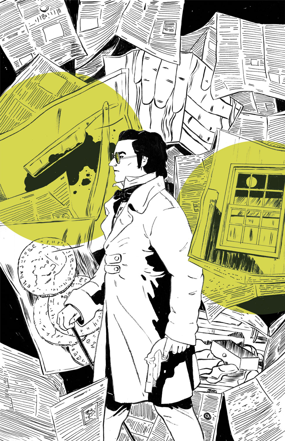 Detective Dupin Cover