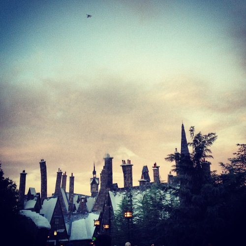 Hogsmeade at Twilight.