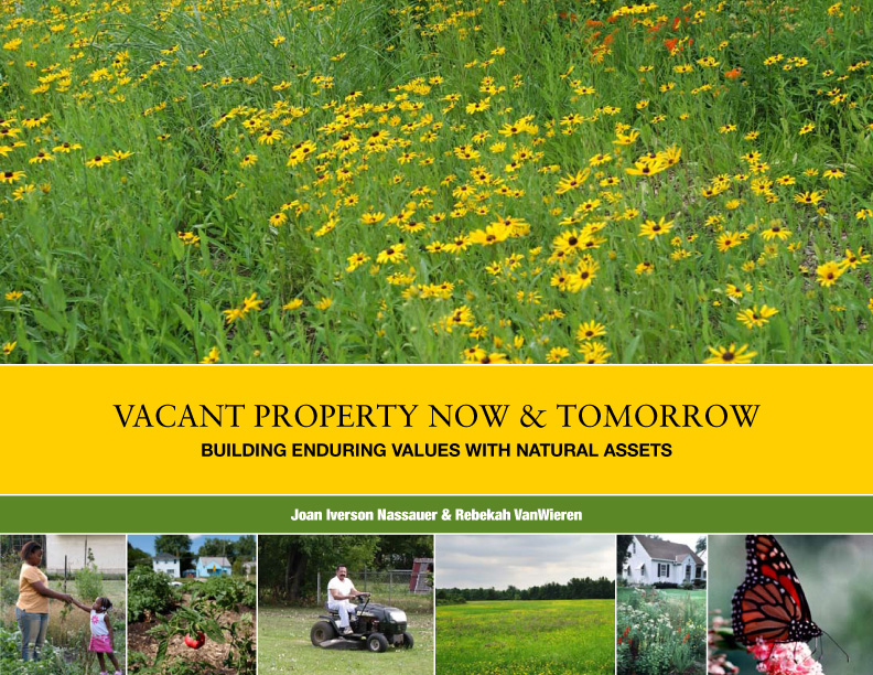 Vacant Property Now & Tomorrow: Building enduring values with natural assets