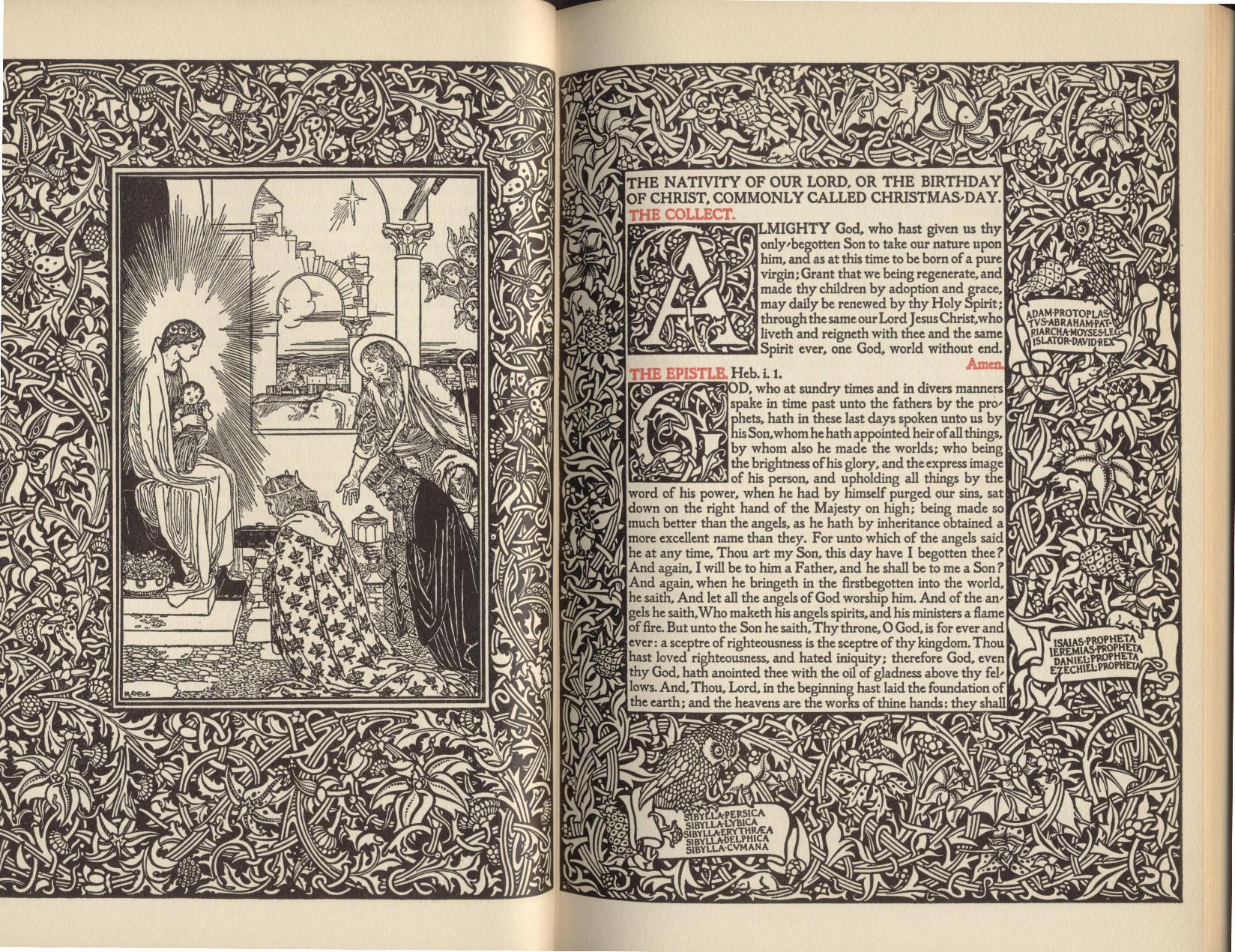 The Altar Book, designed by Daniel Berkeley Updike in 1896.