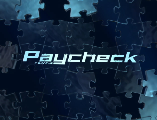 Paycheck Theatrical Trailer Title