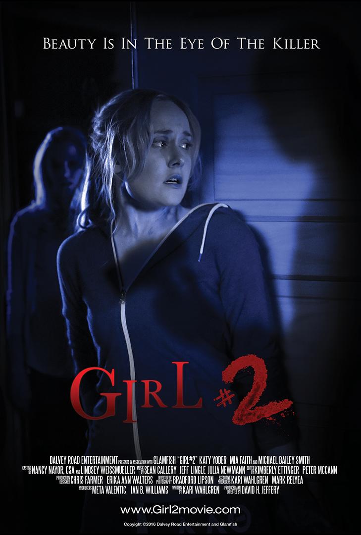 """""""Girl #2"""" Horror/Thriller Short Film Theatrical Poster"""