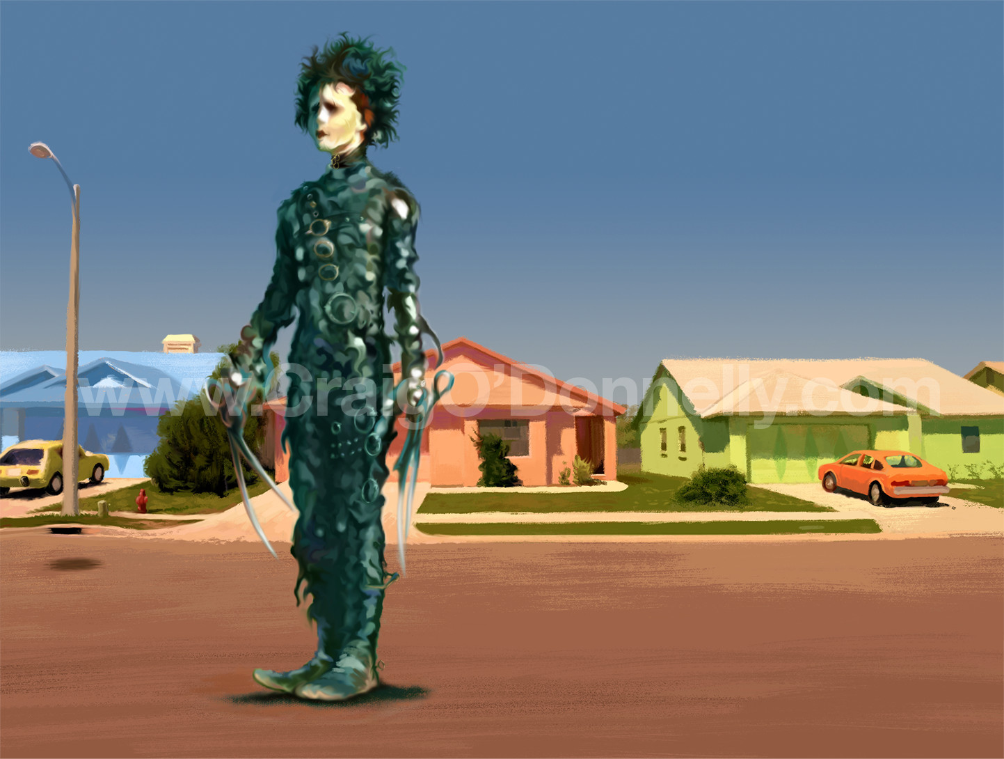 Edward Scissorhands 25th Anniversary Reel Art