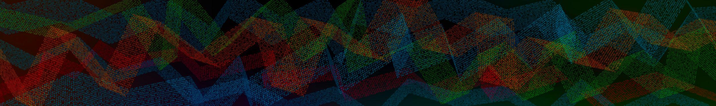 Splunk .conf18 Graphics Wall Mountain Data Graphic