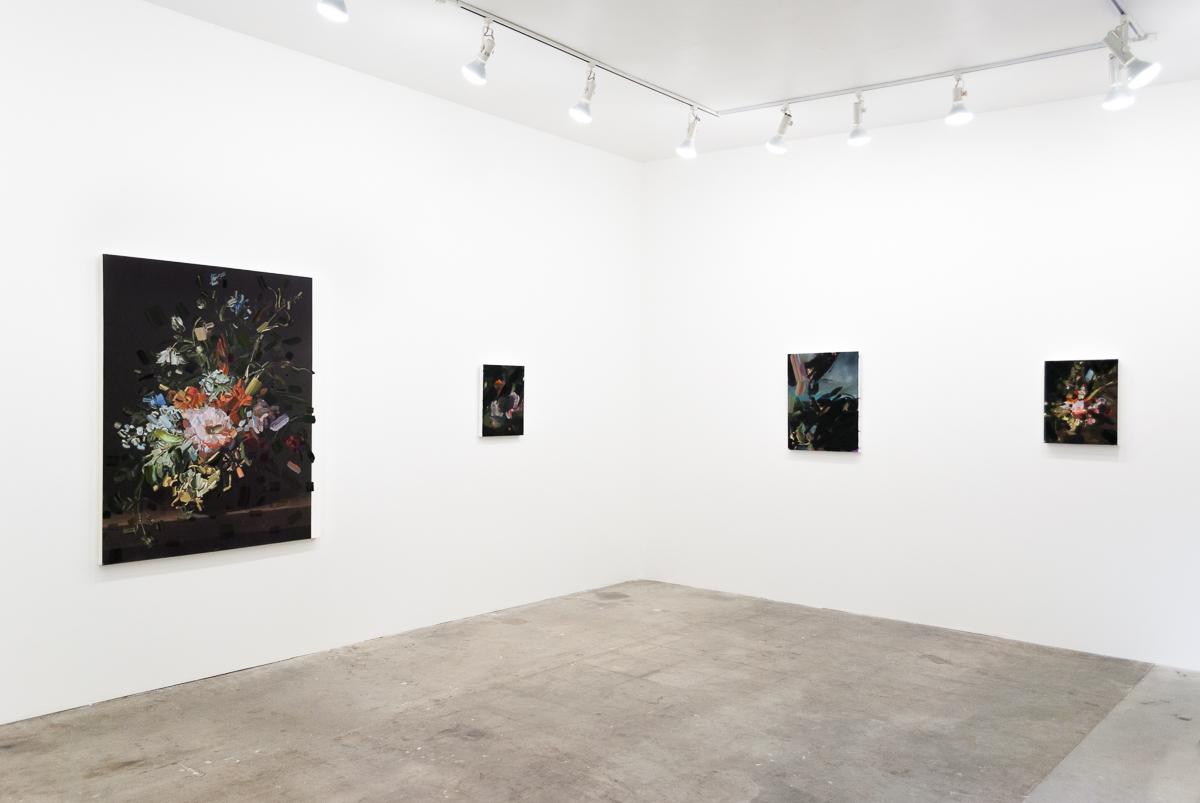 Installation view:  Tiffany Calvert  at  Carl & Sloan Contemporary , May 2015