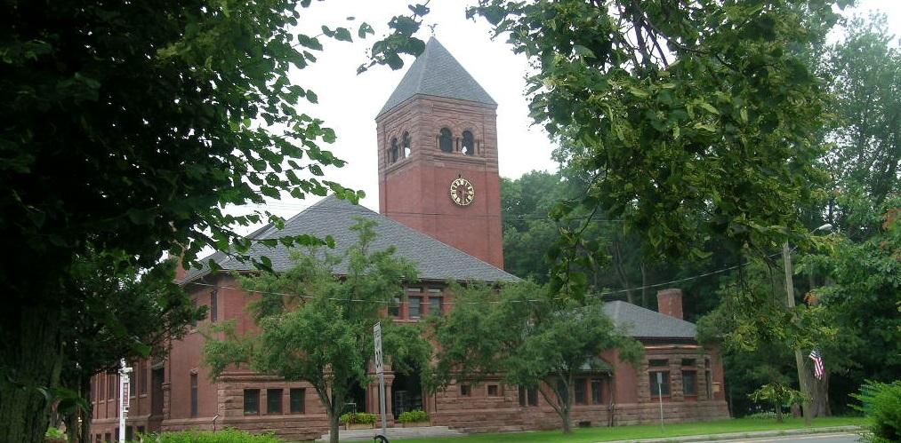 The Dalton Town Hall, Dalton, Massachusetts
